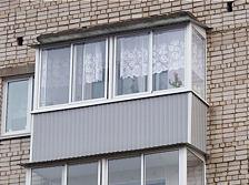 Остекление балкона Актаныш